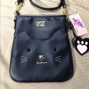 NWT Betsey Johnson Black Cat Crossbody!! Cute